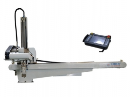 三轴五轴CNC伺服横走式机械手双截式